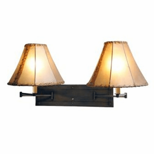 Mountain Modern San Carlos Double Swing Arm Light