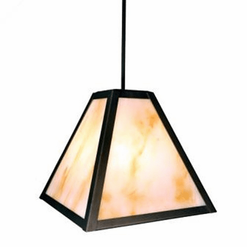 Mountain Modern Timber Ridge Plain Pendant Light