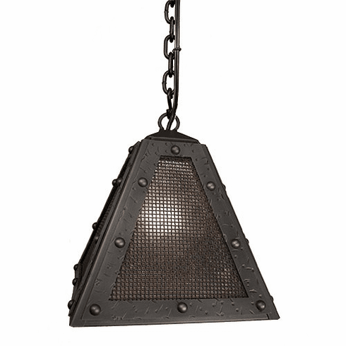 Mountain Modern Timber Ridge Rogue River Mesh Pendant Light
