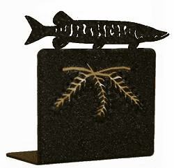Muskie Bookend Set
