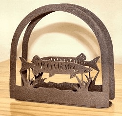 Muskie Napkin and Letter Holder