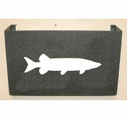 Muskie Wall Mount Magazine Rack
