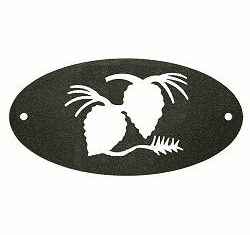Nature Inspired Door Plaques