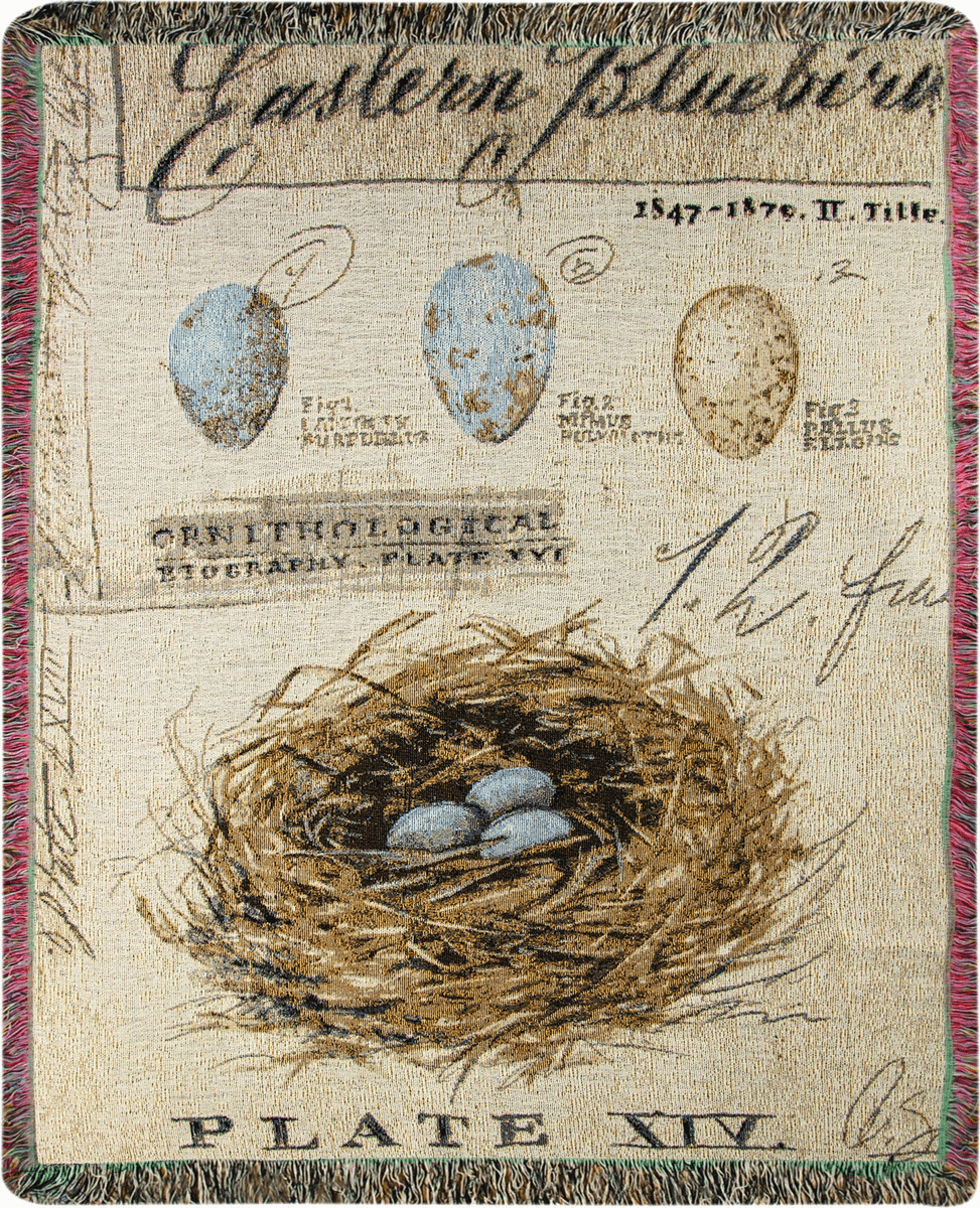 Nature's Nest Tapestry Throw