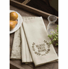 Nature's Script Bless This Home set of 3 Tea Towels