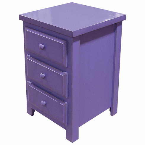 Nightstand with Drawers, 20 inch wide