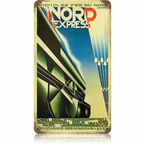 Nord Express - Nordic Railway Sign