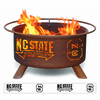 North Carolina State University - Wolfpack Logo Fire Pit