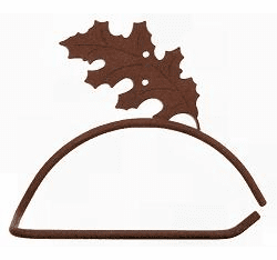 Oak Leaf Design Paper Towel/Toilet Paper Holder