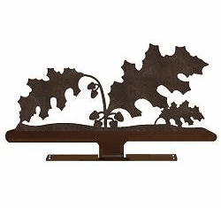 Oak Leaf Mailbox Top