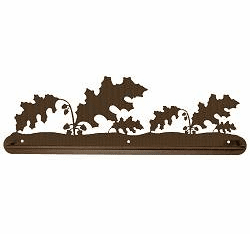 Oak Leaf Scenery Towel Bar
