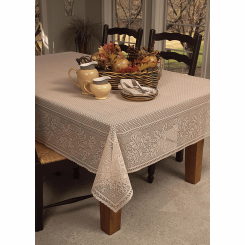 Oak Leaf Small Rectangle Tablecloth