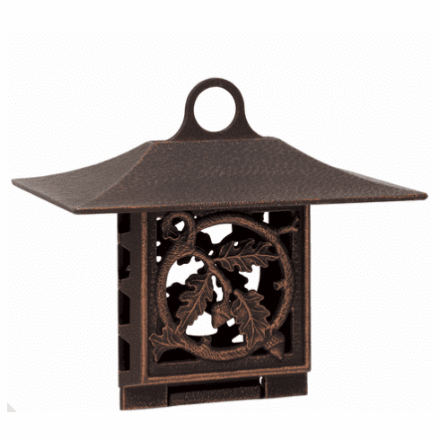 Oak Leaf Suet Feeder - Oil-Rubbed Bronze