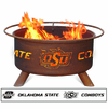 Oklahoma State Logo Fire Pit - Cowboys Fire Ring