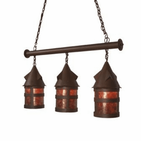 Old Forge Anacosti Portland Triple Pendant Light