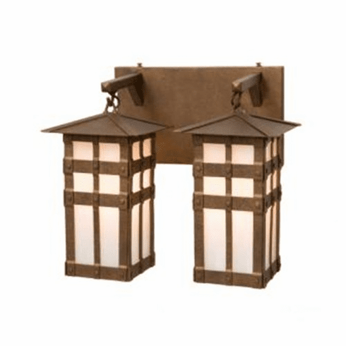 Old Forge San Carlos Double Vanity Light