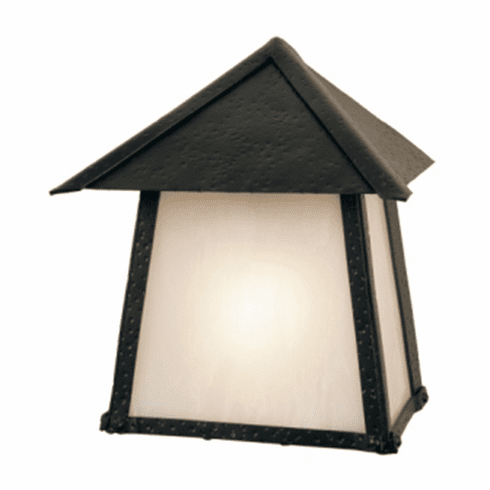 Old Forge San Carlos Tri Roof Wet Wall Sconce