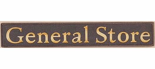 Old Time Sign - General Store