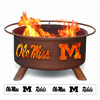 Ole Miss Rebels Fire Pit - Rebels Design Fire Ring