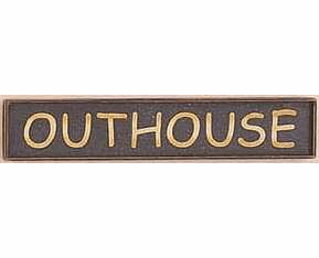 Outhouse Sign - Outhouse