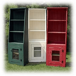 Painted Hutches and Bookcases