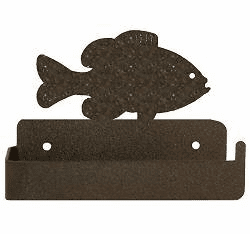 Panfish One Piece Toilet Paper Holder