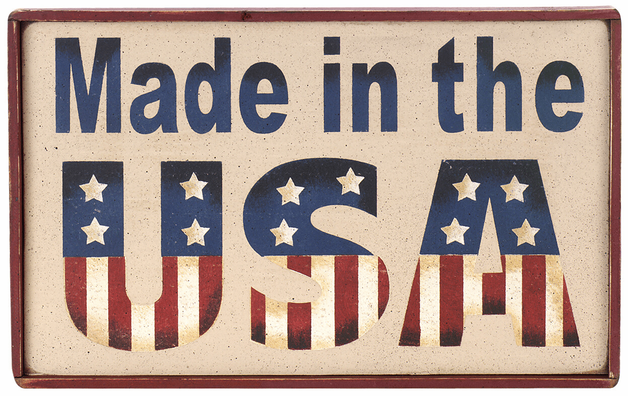 Patriotic Home Decor - Made In The USA