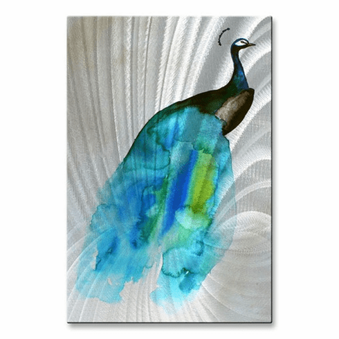 Peacock II Wall Decor