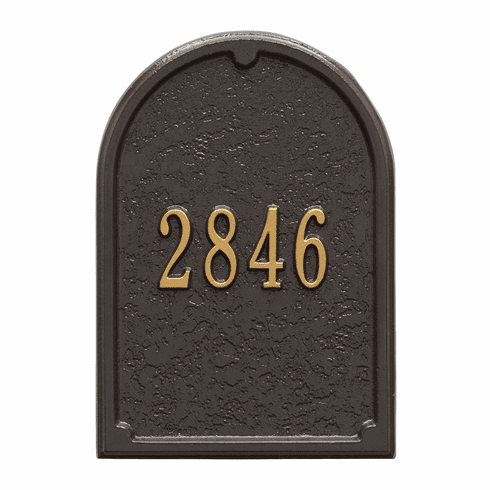 Personalized Door Plaque in Bronze