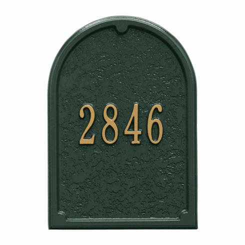 Personalized Door Plaque in Green