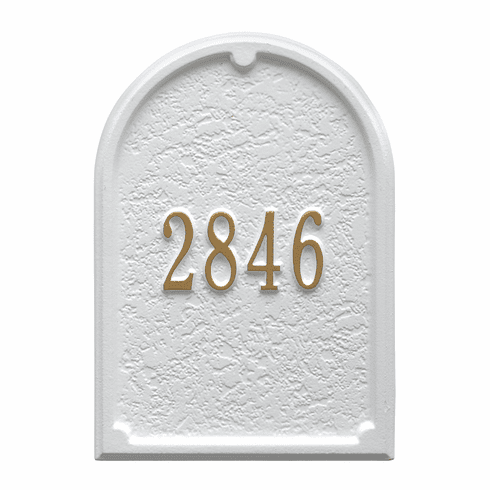 Personalized Door Plaque in White