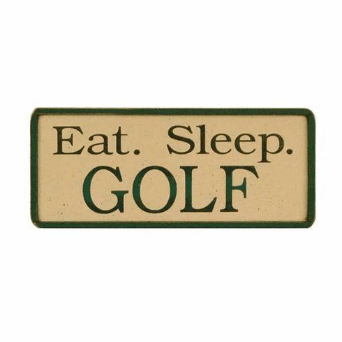 "Personalized  ""Eat. Sleep."" Sports Sign"
