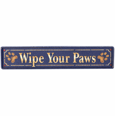 Pet Lover Gift - Wipe Your Paws