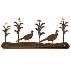 Pheasant Scenery Towel Bar