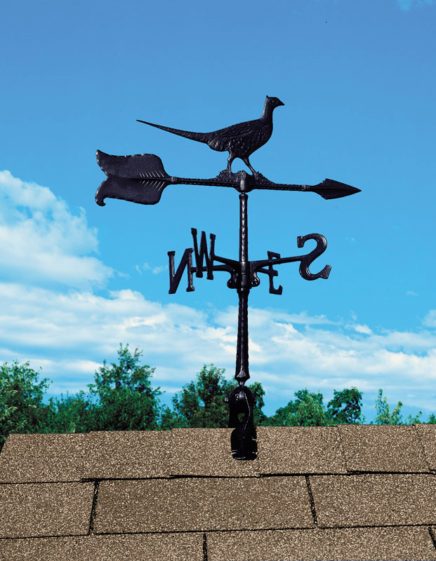 Pheasant  Weathervane - Bird Decoration