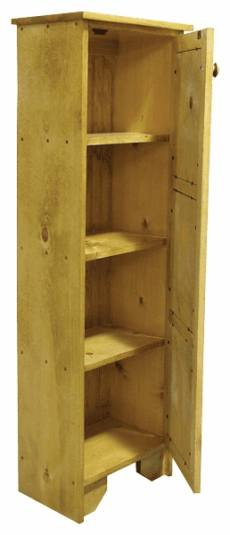 Pie Safe Cabinet, 17 inch wide