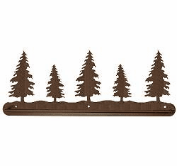 Pine Tree Towel Bar