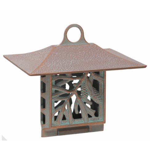 Pinecone Suet Feeder - Copper Verdigris