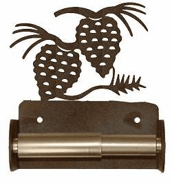 Pinecone Toilet Paper Holder (Spring Bar)