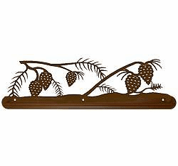 Pinecone Towel Bar