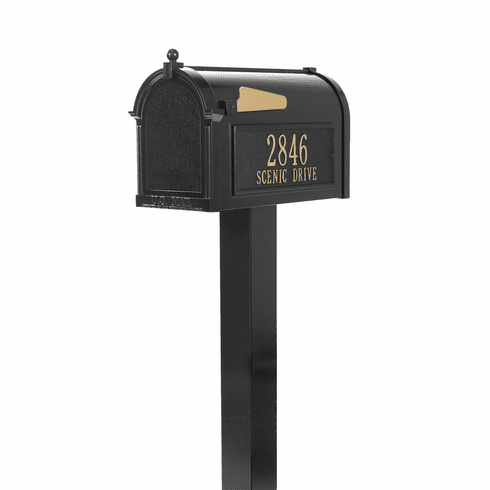 Premium Mailbox Package in Black