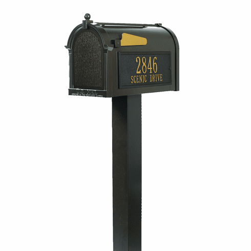 Premium Mailbox Package in Bronze