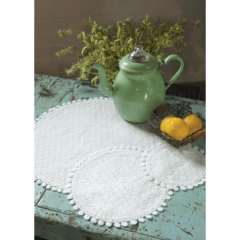 Prima Medium Doily, set of 4