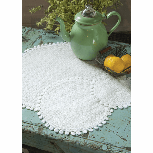 Prima Mini Doily/coaster, set of 4