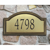 Providence Arch Street Number Address Plaque - Small House Number Marker