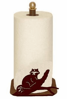 Raccoon Paper Towel Holder for Countertop