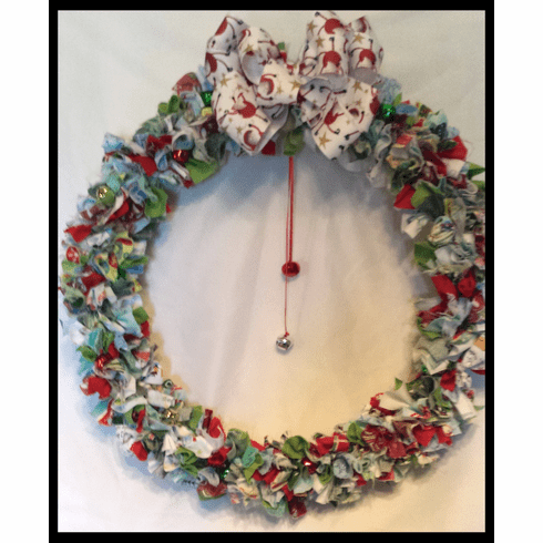 Rag Wreath, Fancy
