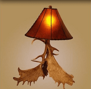 Rawhide Lampshade Medium Size