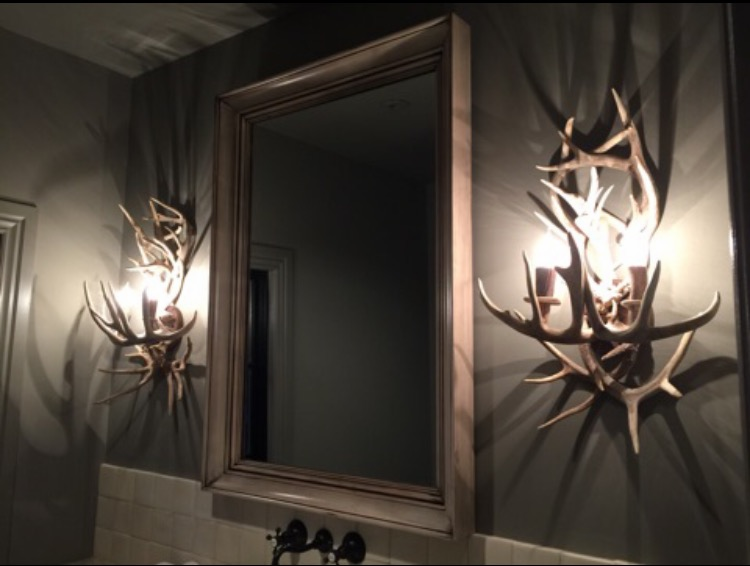Real Antler Lighting