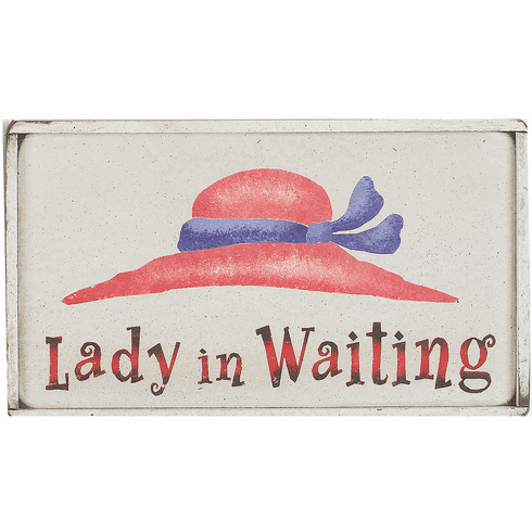 Red Hat Society Gift - Lady In Waiting